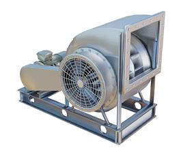 3D Industrial Blower Fan