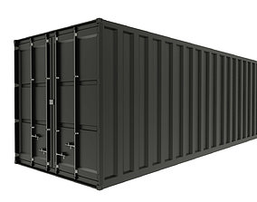 3D model harbour Container