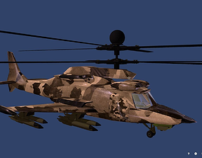 3D asset Fantasy Military Helicopter KA-777 VRVGs-Texas 2