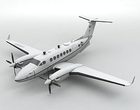 MC-12W Liberty Aircraft 3D asset