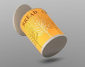 3D model Breadcrumbs Cup