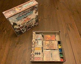 Champions of Midgard Board Game Organizer 3D print model