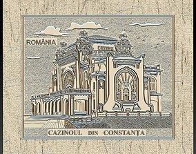 Casino Constanta Romania for Embossing 3D print model 2