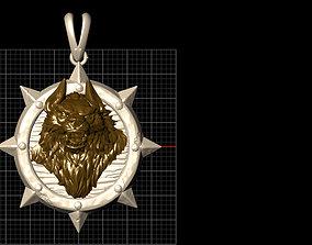 Wolf Man 3D print model