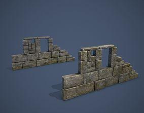 3D model Ruins