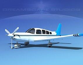 3D Piper Cherokee Six 260 V11