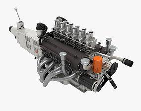 Ferrari Colombo V12 Engine - 3 liter 3D model