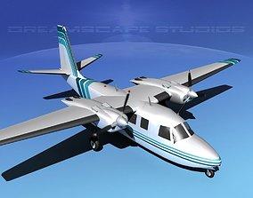 Rockwell Aero Commander 560 V11 3D model