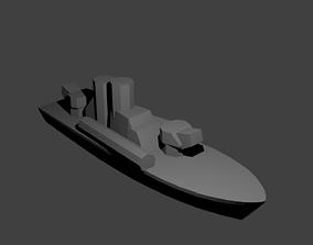 3D print model Soviet Komar Class Missile Boat