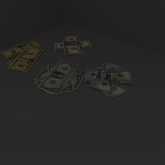 Money 3d Model
