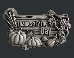 3d STL models for CNC router thanksgiving day