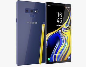 3D Samsung Galaxy Note 9 All Color