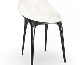 Super Impossible Plastic Chair kartell 3D