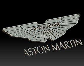 3D printable model Aston Martin car logo