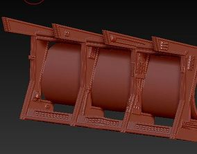 Deagostini millennium Falcon cargo bay 3D print model 2