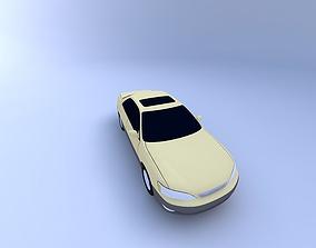 Lexus ES 300 97 with texture 3D model