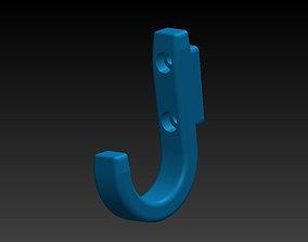 Coat hook 3D print model