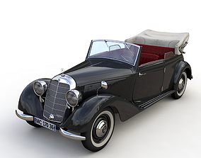 3D MERCEDES-BENZ TYP 170V CABRIOLET B 1936