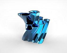 3D print model Hexagonal Desk Organizer