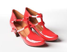3D Penny Neon High Heel