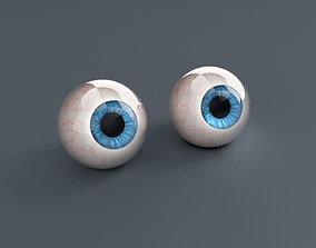 3D asset Pack Human Eyes