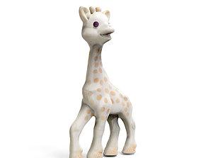 3D print model Sophie The Giraffe
