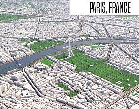 Paris 3D model