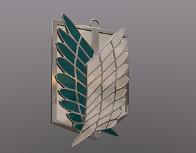 3D print model Attack on Titan Wings of Freedom