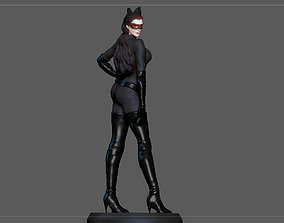 CATWOMAN SELINA KYLE BATMAN DARK 3D printable model 4