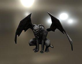 3D model Gargoyle Lowpoly Gameready
