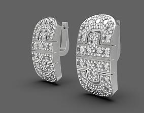 Some good replica earrings 3D print model