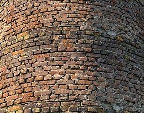 Century Brick Wall Material 02 3D model