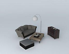 3D Lounge Maisons du Monde