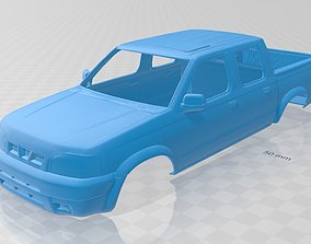 automotive Nissan Frontier Printable Body Car