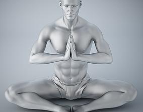 3D printable model Man yoga 011