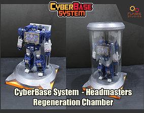 3D print model CyberBase System Headmasters Renegeration