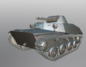 Tank T-40 3D model