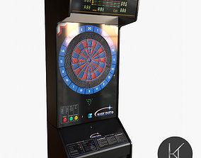 Arcade Dart Board 3D asset