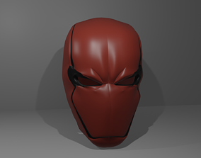 3D printable model RED HOOD REBIRTH HELMET
