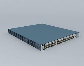 Cisco Catalyst 3750G-48 3D model