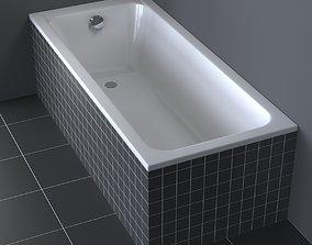 3D model Duravit D-Code Bathtub