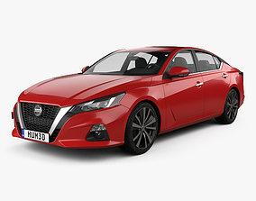 3D Nissan Altima Platinum 2018