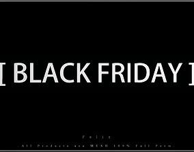 BLACK FRIDAY - K 3D asset