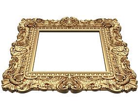Classic Frame 02 3D asset