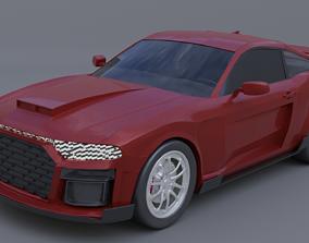 Generic muscle car mark 2c 3D model