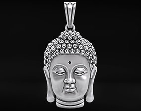 3D printable model Pendant head of Buddha