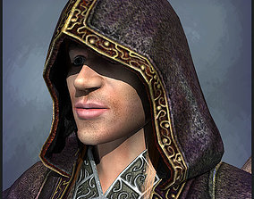 3D asset Warlock Playable Character
