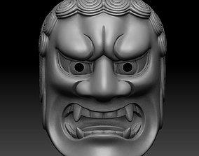 FUDO NOH MASK 3D printable model