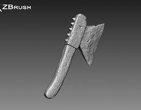 3D Zbrush Axe