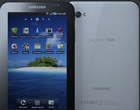 samsung p1000 galaxy tablet 3D model